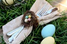 Charming Easter napkin ring