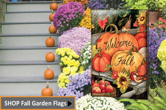 Garden Flags Affordable Decorations for Your Outdoor Decor